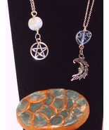 Dragon Scales Charging Box & 2 Hand Wrapped Pendants - $23.10