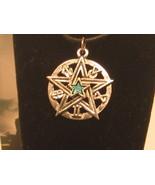 Pewter Pentagram - Magic Star Pendant - $15.00
