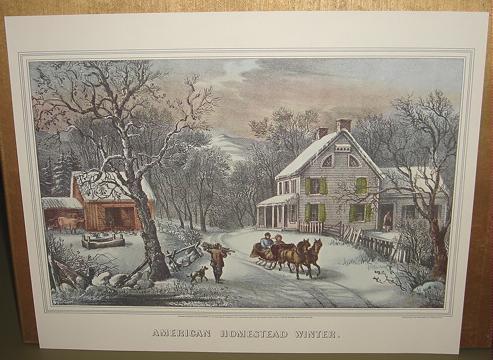 Currier american homestead winter
