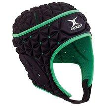 Gilbert Ignite Headguard - Black/Green (Small) image 1