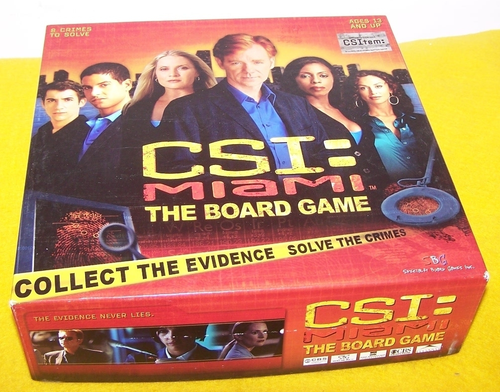Board game csi