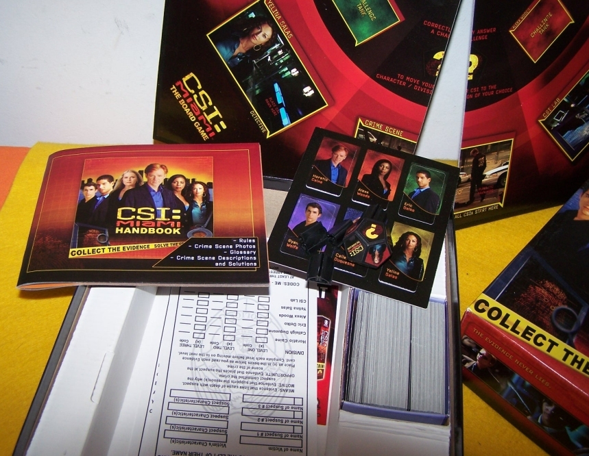 CSI Miami Board Game Never Played With