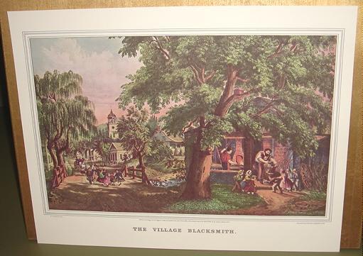 Currier the village blacksmith