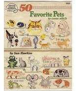 50 Favorite Pets to Cross Stitch  - $2.00