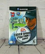 Nintendo Game Cube Tiger Woods PGA Tour 2003 EA Sports Complete - $9.89