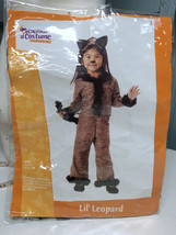Little Lil' Leopard Toddler M 2-4 California Costume  - $15.59