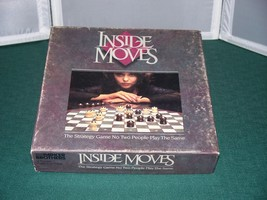 Inside Moves Strategy Game Parker Brothers 1985 Complete - $12.00