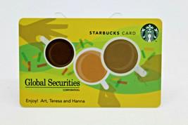 Starbucks Coffee 2011 Gift Card Global Securities Corpotation BC Zero Ba... - $10.51