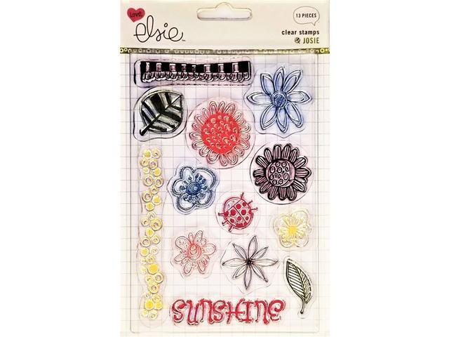 Love Elsie Josie Icons Clear Stamp Set #2397
