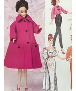 """McCalls Sewing Pattern 7301 Doll Clothes Size 11.5"""" New - $18.80"""