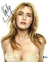 Kate Winslet Sultry Signed 8x10 Photo Certified Authentic Beckett BAS COA - $247.49