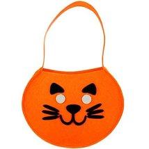 Cute DIY Halloween Kids Pumpkin Bag Trick or Treating Candy Bag Set of 2