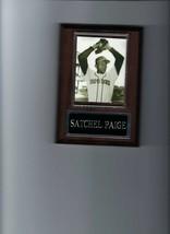 Satchel Paige Plaque St. Louis Browns Baseball Athletics Black Yankees Indians - $2.96
