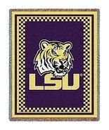 NCAA Cotton Fabric Throw NCAA Team: LSU - Mark 3 - $64.95