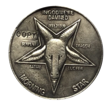 Hobo Nickel 1937-D 3-LEGGED BUFFALO Devil COPPY COIN For Gift - $5.99