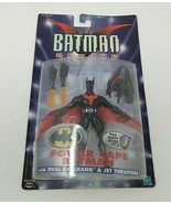 Power Cape Batman Beyond Figure by Hasbro with Dual Batarang & Jet Thrus... - $59.39