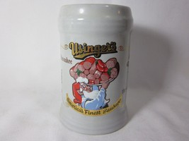 Usinger's Milwaukee 1980 Salsiccia 100 Years Elfo Gnomo Ceramica Stein T... - $15.83
