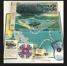 Vintage Bermuda Triangle MYSTERY CLOUD BOARD Game 1976 Milton Bradley CO... - $32.71