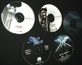 Lot Of 5 Digital PressKits -CD Photos- BLADE II & III, X MEN, STARSHIP T... - $12.82
