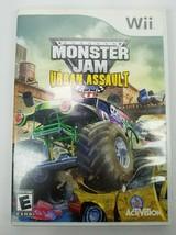 Monster Jam: Urban Assault Nintendo Wii 2008 Complete Tested - $5.93