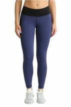 Kirkland Signature Ladies' Jacquard Active Tight, Blue/Black NWT