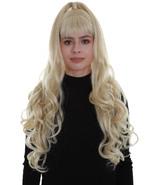 Women's Blonde Color Wavy Medium Length High Ponytail Trendy Pop Star Di... - $20.85