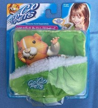 GoGo Pets Hamster Bed & Blanket Fuzzy Green Cozy Soft NEW! - $11.87