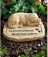 Dog Pet Memorial Stone - $40.00