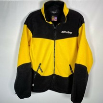 Ski-Doo Everest Fleece Full Zip Inner Jacket Men's Sz Small Bombardier - $37.08