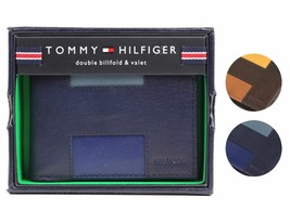 Tommy Hilfiger Men's Premium Leather Credit Card ID Wallet Passcase 31TL130013