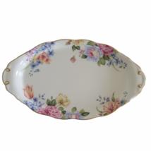"Royal Albert Bone China England Beatrice Oval Serving Platter 10"" Floral... - $28.01"