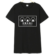 Forever Hungry Sushi Rolls Signs T-Shirt Tumblr Ladies Fashion Clothes  - $16.99