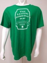 The Leaping Leprechaun Est. 2017 It's Your Lucky Day Green T Shirt Men XXL - $19.59