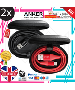 2x Anker Powerline II+ Lightning USB Cable MFi Certified for iPhone XR /... - $13.38+