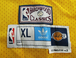 SHAQUILLE O'NEAL / AUTOGRAPHED LOS ANGELES LAKERS YELLOW PRO STYLE JERSEY / COA image 6
