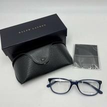 Ralph Lauren Women's RL6135 Rectangular Eyeglass Frames, Blue Sea, 52 mm - $67.82