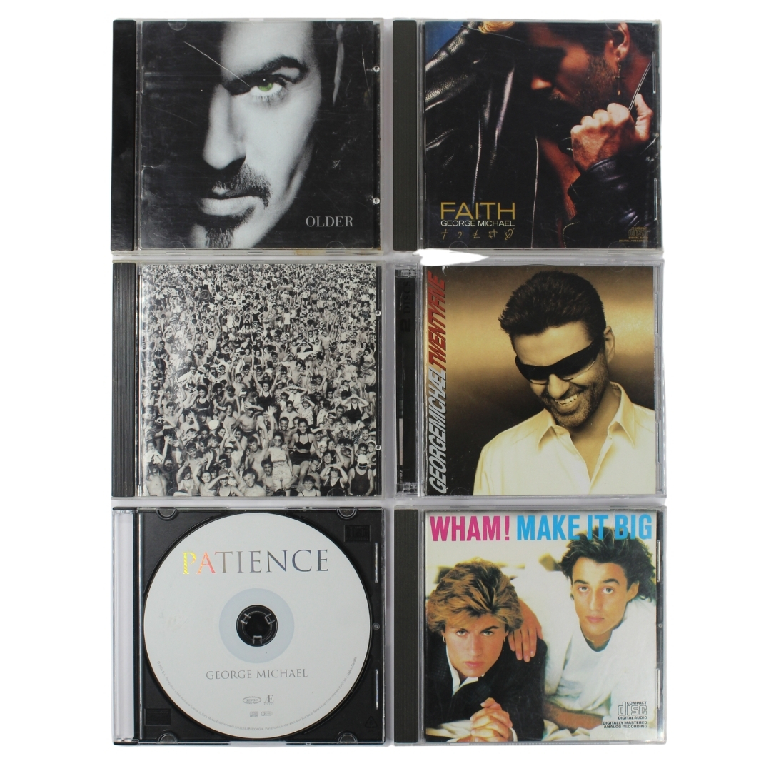 Primary image for George Michael CD Bundle 7 Discs Wham Make it Big Patience Older Twenty Five