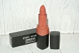 Bobbi Brown Crushed Lip Color Lipstick Sazan Nude Full Size 0.11 oz/3.4 G New - $24.70