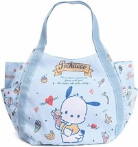Sanrio Pochacco Light Blue Diaper Bag Big Balloon Tote Japan New with Tr... - $56.10