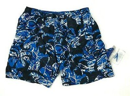 SPEEDO Swim Trunks Men's Size Large Hawaiian Floral Mesh Lined WATERPROO... - $27.33