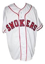 Custom Name # Tampa Smokers Retro Baseball Jersey Button Down White Any Size image 1