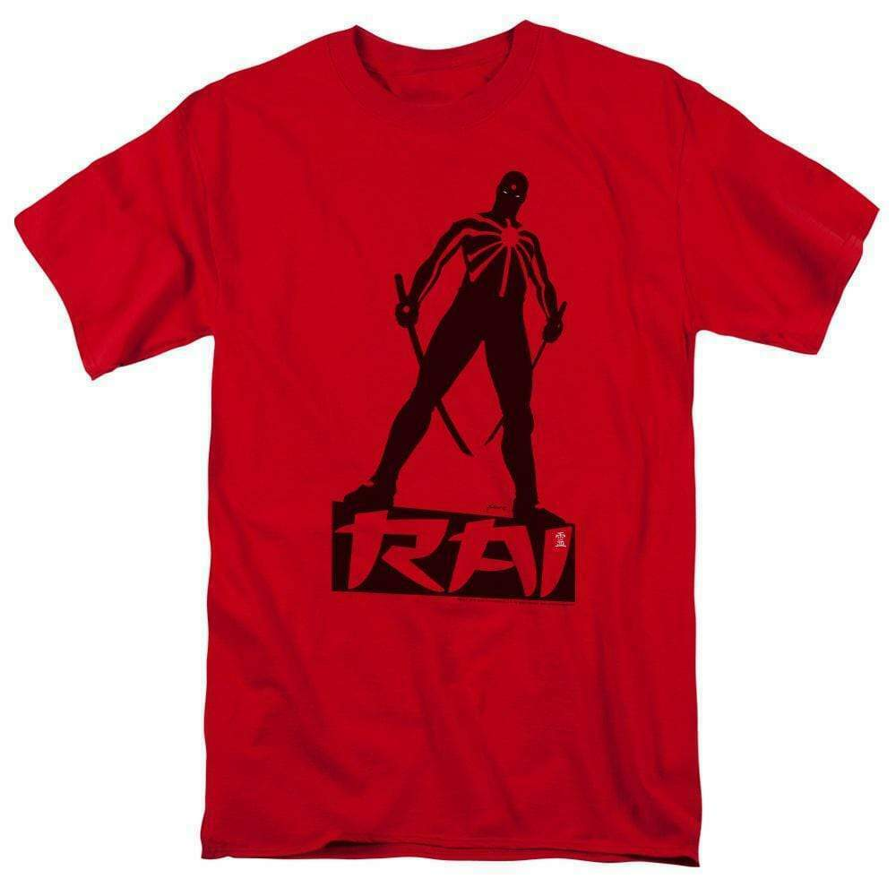 Rai T Shirt Valiant Comics graphic tee Bloodshot X-O Manowar cotton red VAL169