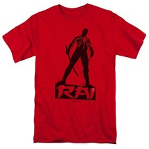 Rai T Shirt Valiant Comics graphic tee Bloodshot X-O Manowar cotton red VAL169 image 1