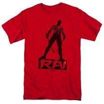 Rai T Shirt Valiant Comics graphic tee Bloodshot X-O Manowar cotton red VAL169 image 1