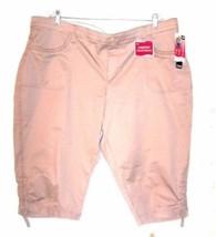 Lee Long Knicker Shorts & Capri Pants NWT$48-$50 Size Medium - 20W image 2