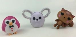 Lalaloopsy Penguin Polar Bear Squirrel Doll Pet 3pc Lot Toy Accessory MGA - $15.99