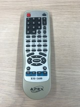 APEX RM-1600 REMOTE CONTROL TESTED AND CLEANED                             (I4)