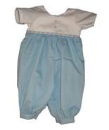 Preemie & Newborn Boys Cotton Bereavement Romper - $30.00