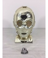 1994 Star Wars C-3PO head mid century steampunk deco modernist industria... - $80.00