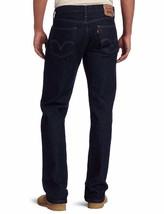 NEW LEVI'S STRAUSS 505 MEN'S ORIGINAL STRAIGHT LEG INDIGO JEAN PANTS 505-0216 image 2